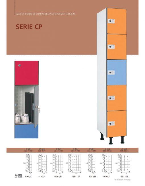 Cacifos Corpo Compacmel Plus Portas Fenólicas CP