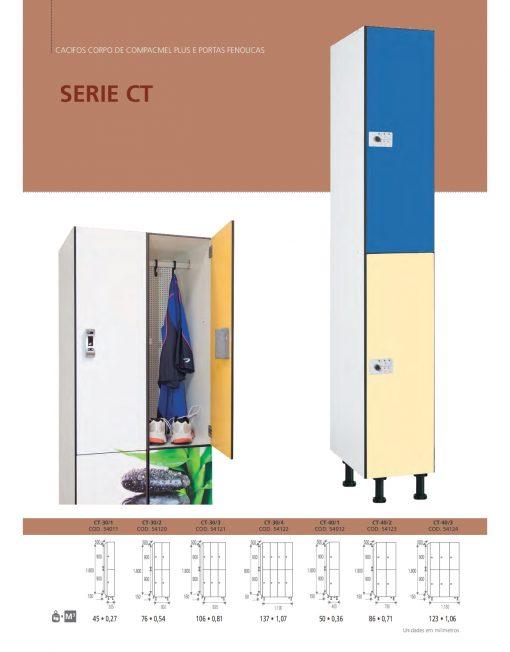 Cacifos Corpo Compacmel Plus Portas Fenólicas CT