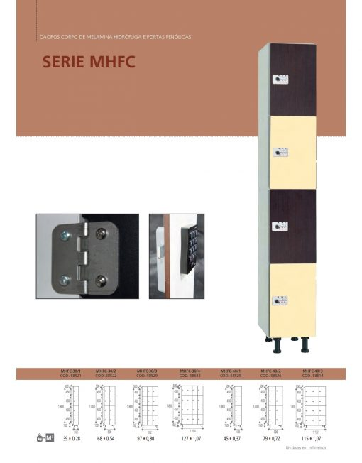 Cacifos Corpo Melanina Hidrófuga Portas Fenólicas MHFC
