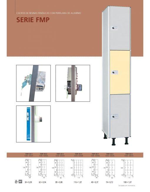 Cacifos Fenólicos Perfil Alumínio FMP