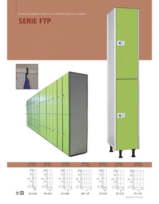 Cacifos Fenólicos Perfil Alumínio FTP